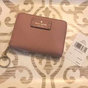 Kate Spade Dani Grove Street Key Ring Wallet - NWT